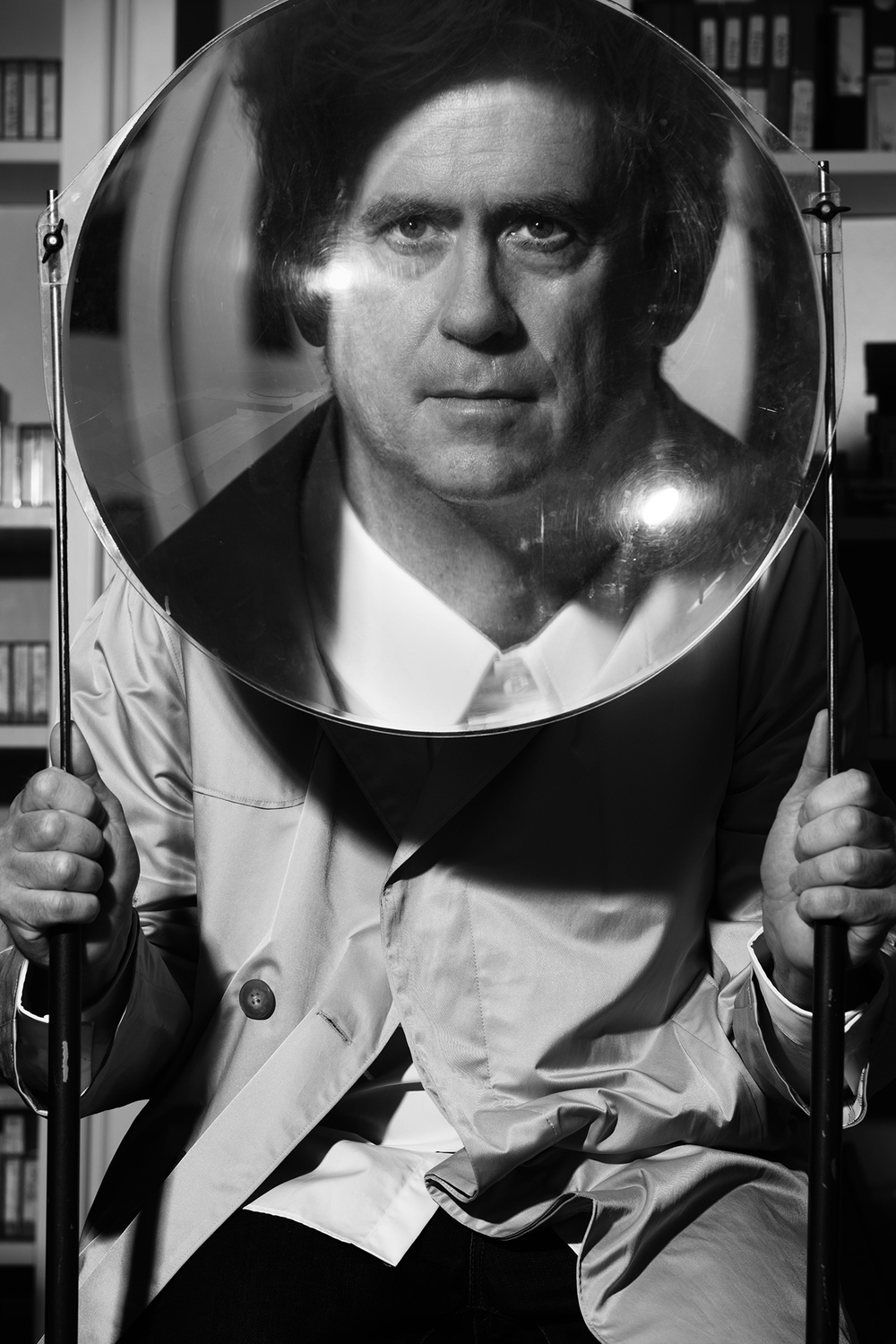 Tony Oursler for Interview Magazine