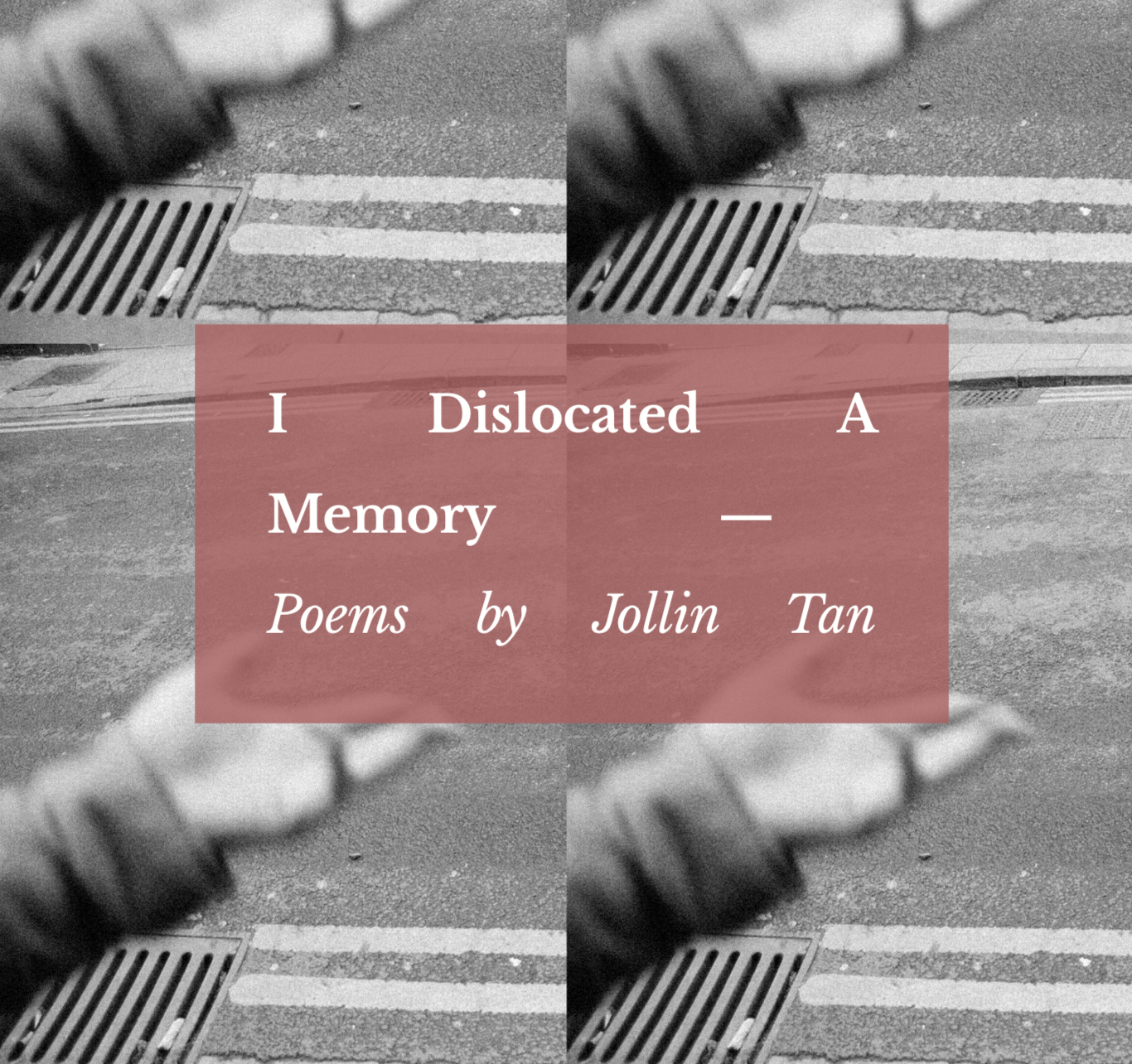 Upcoming: I Dislocated A Memory - I Dislocated A Memoryis Jollin's third collection of poetry, as yet unpublished and still in its finishing stages. The poems in this collection remain intensely personal but depart from Jollin's earlier style, which she self-deprecatingly refers to as