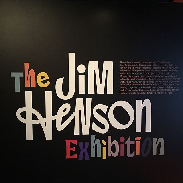 The Jim Henson show at @movingimagenyc is 🔥. More so if you love the muppets. And to further incentivize you, everything was framed by yours truly 😘 #fineart #archivalframing #jimhenson #muppets