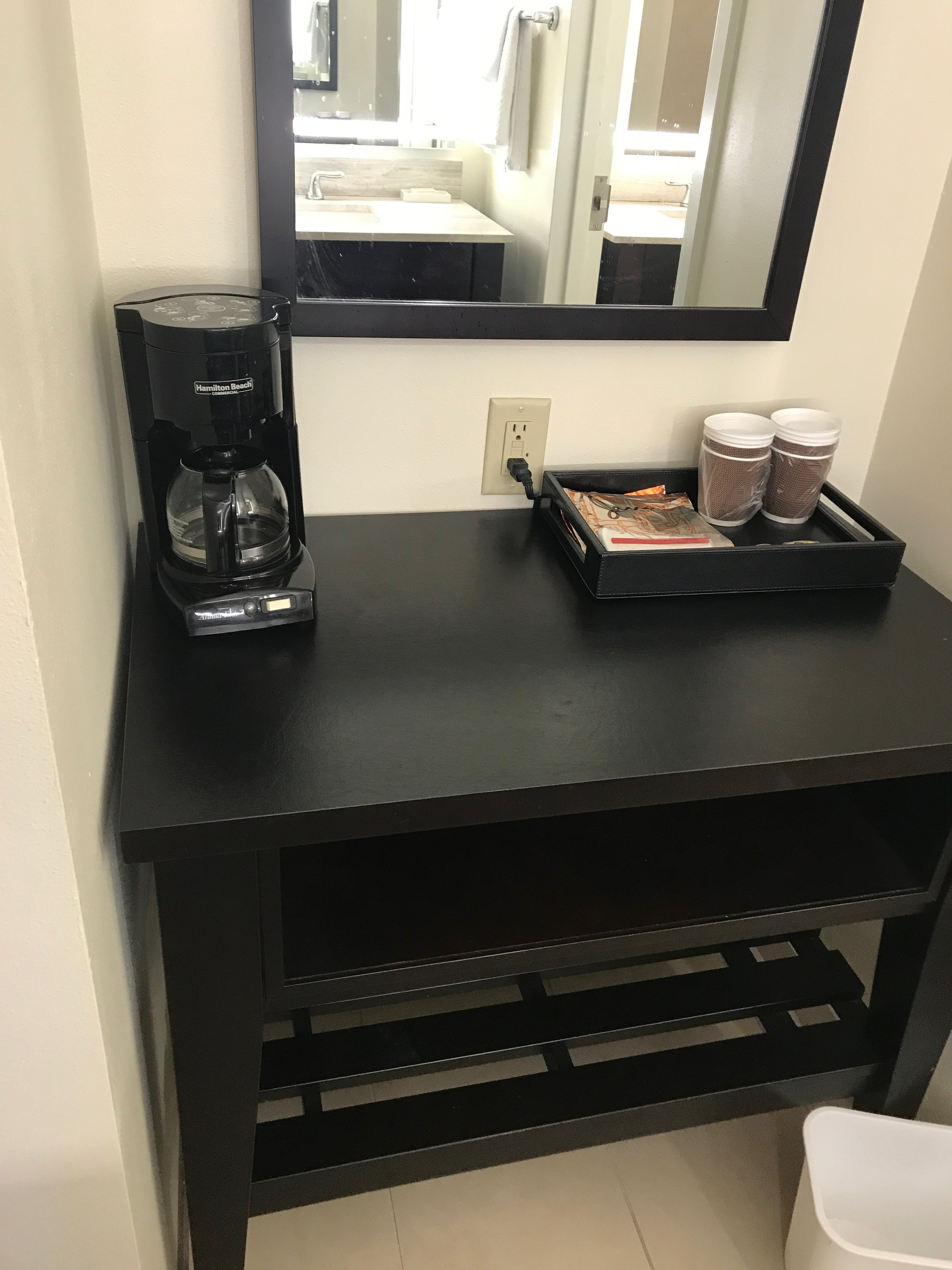 Coffee Station - + Two Sinks
