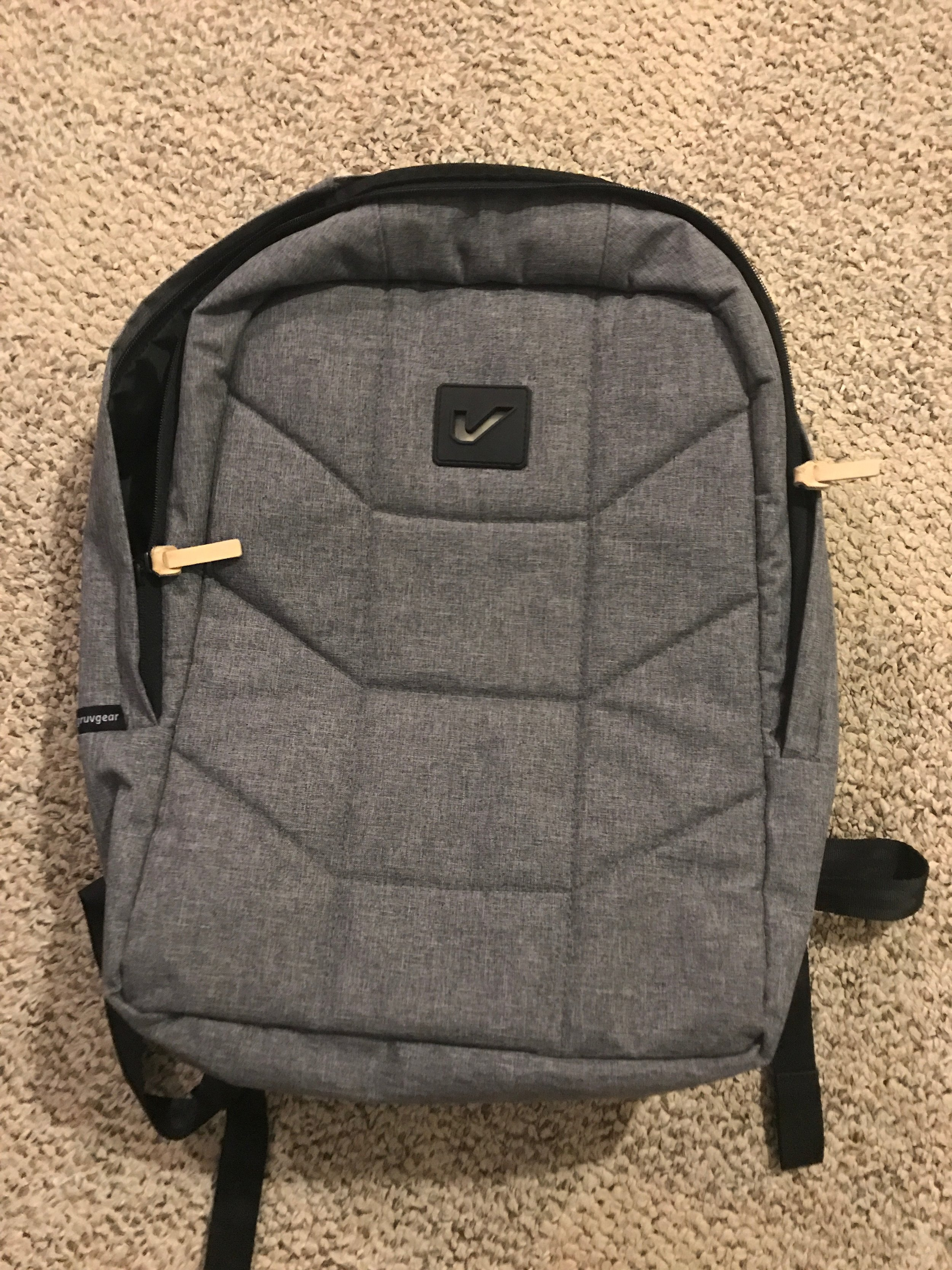 $20 LIKE NEW GruvGear Vibe backpack tan - the gruviest backpack for all of your day to day activities.RETAIL: $80