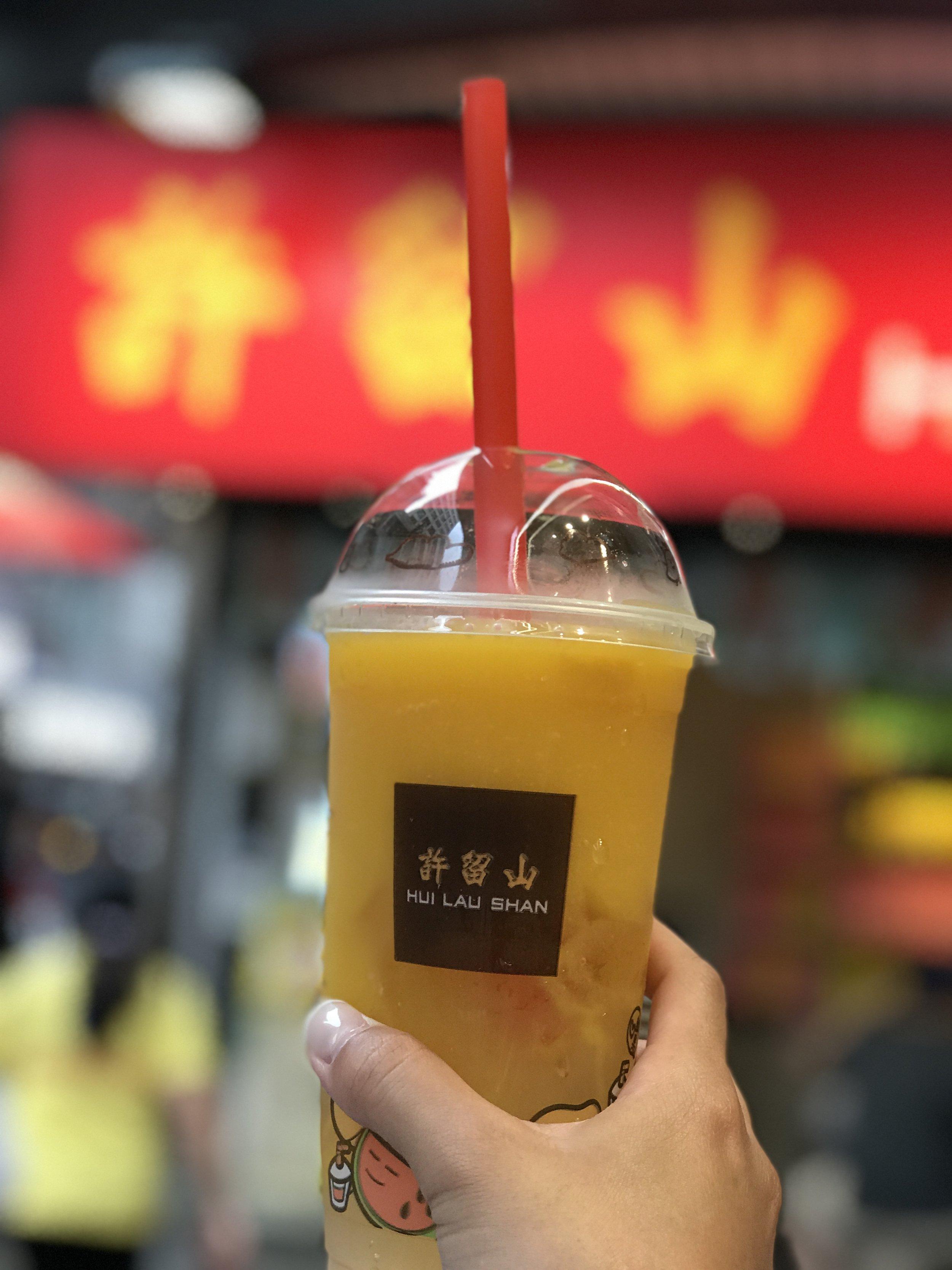 Mango Slushy with Mango -