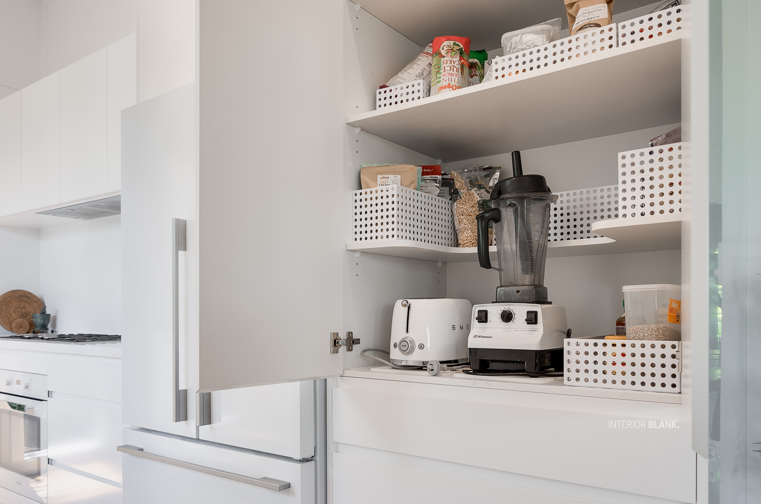 Kitchen Design storage solutions by Interior Blank
