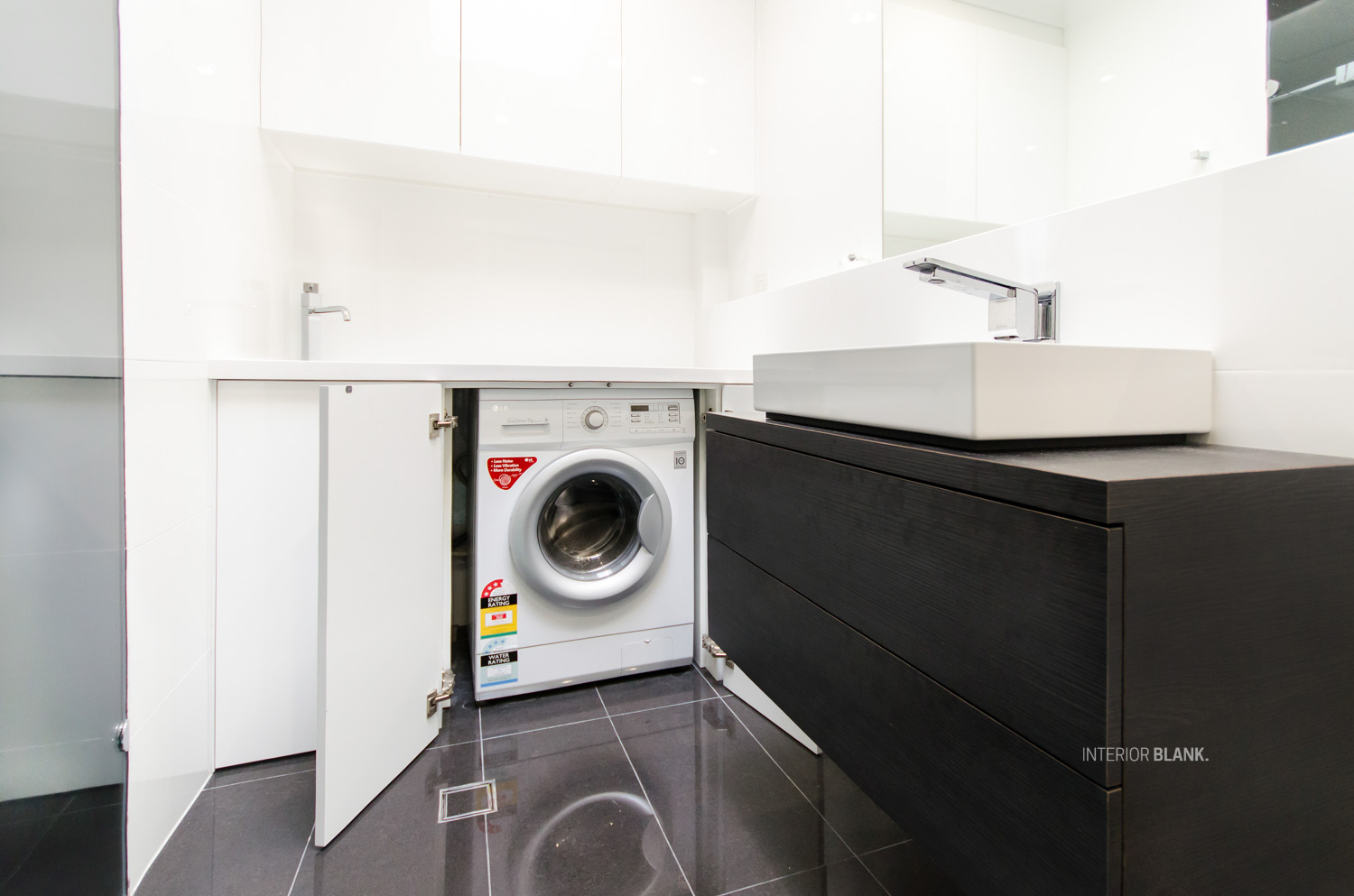 Copy of Custom made laundry cabinetry