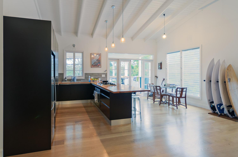 Black Kitchen Interior Blank