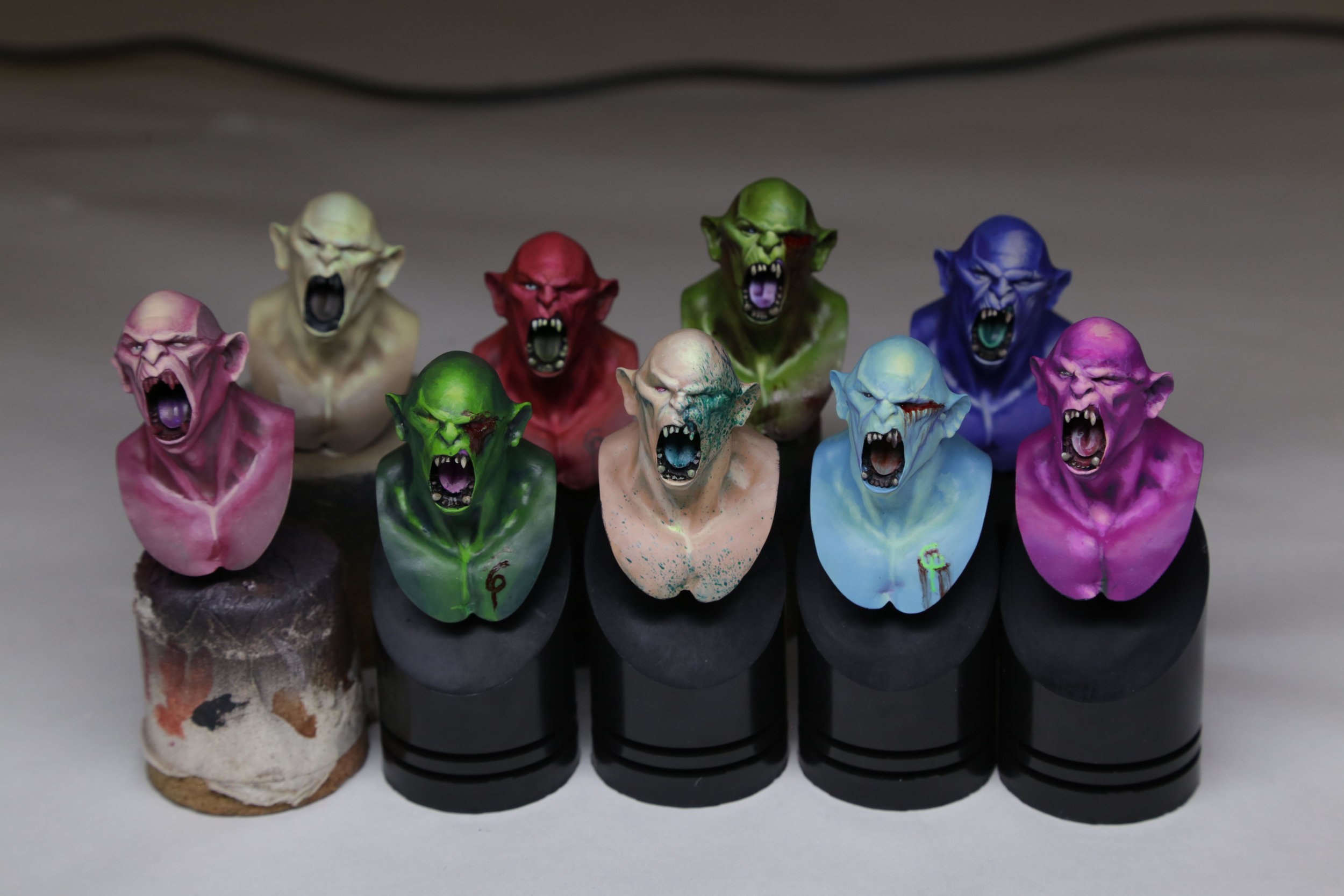Orc Bust from Hera Models