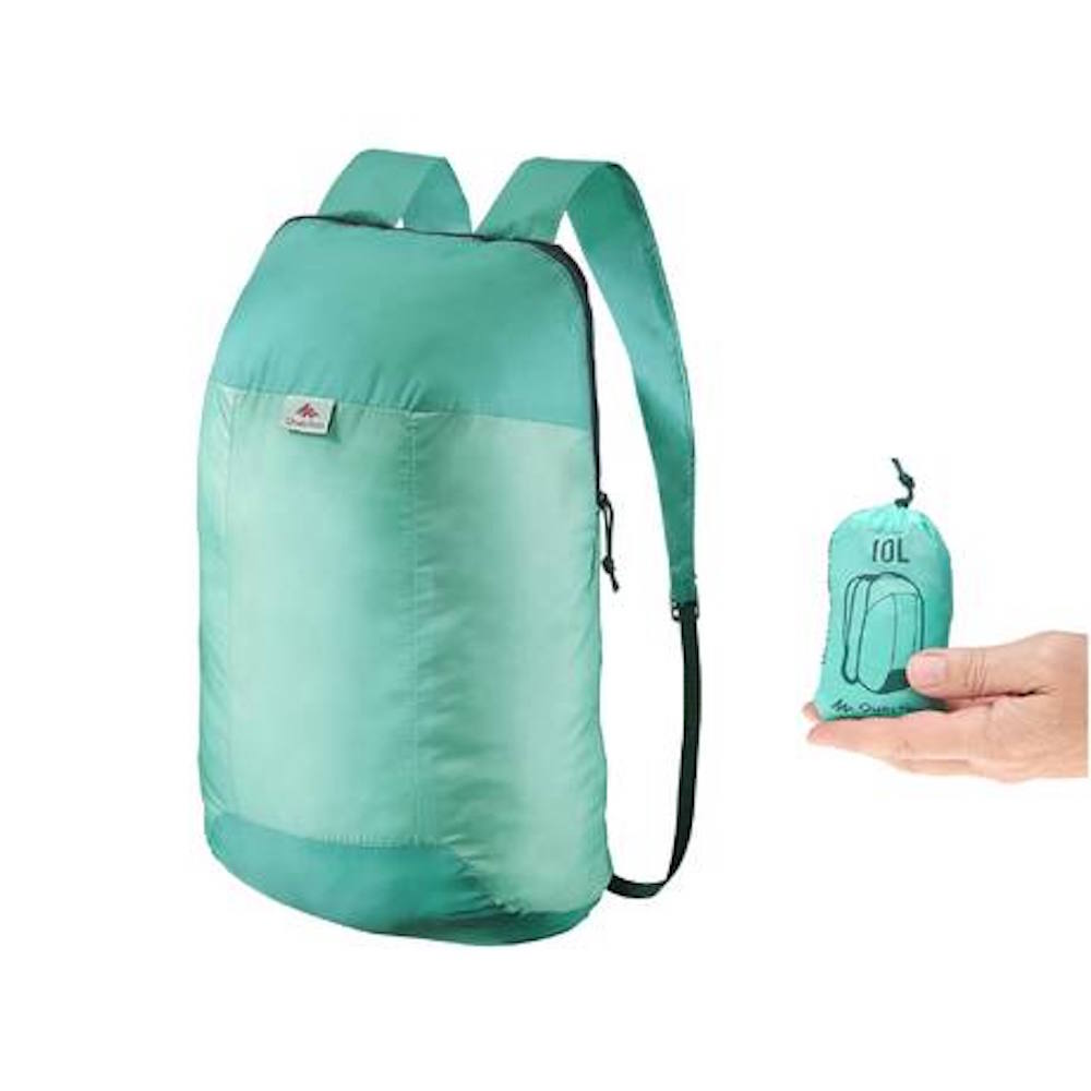 Quecha, ultra compact rucksack 10L £1.99 (online Decathalon)