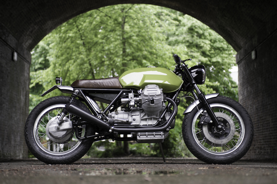 UMC-026 VERDE - Moto Guzzi Le Mans II