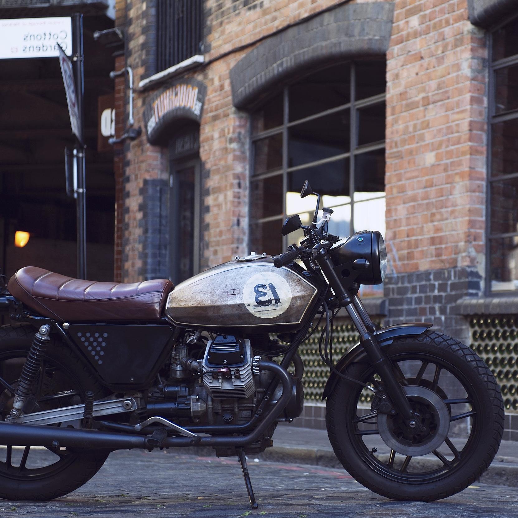 UMC-045LUCKY 13 - Moto Guzzi V50
