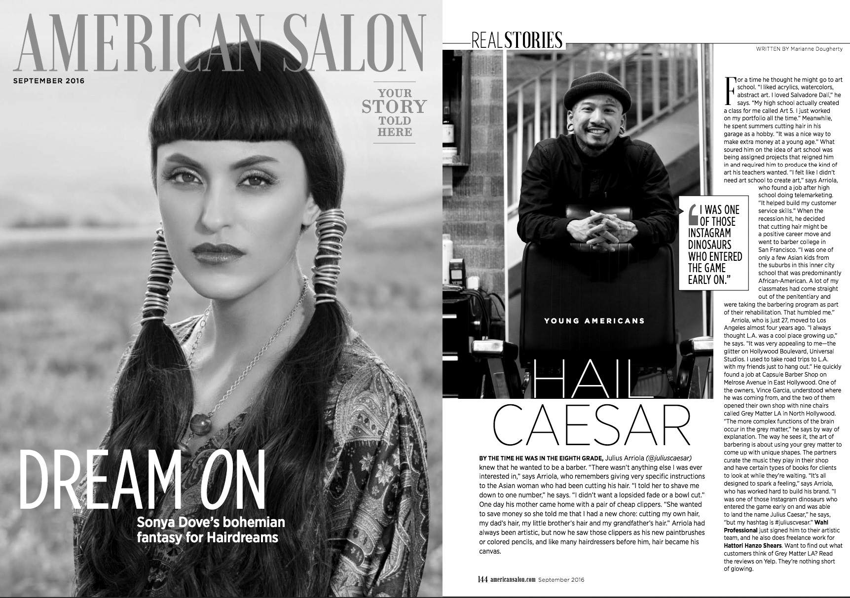 AMERICAN SALON, SEPTEMBER 2016