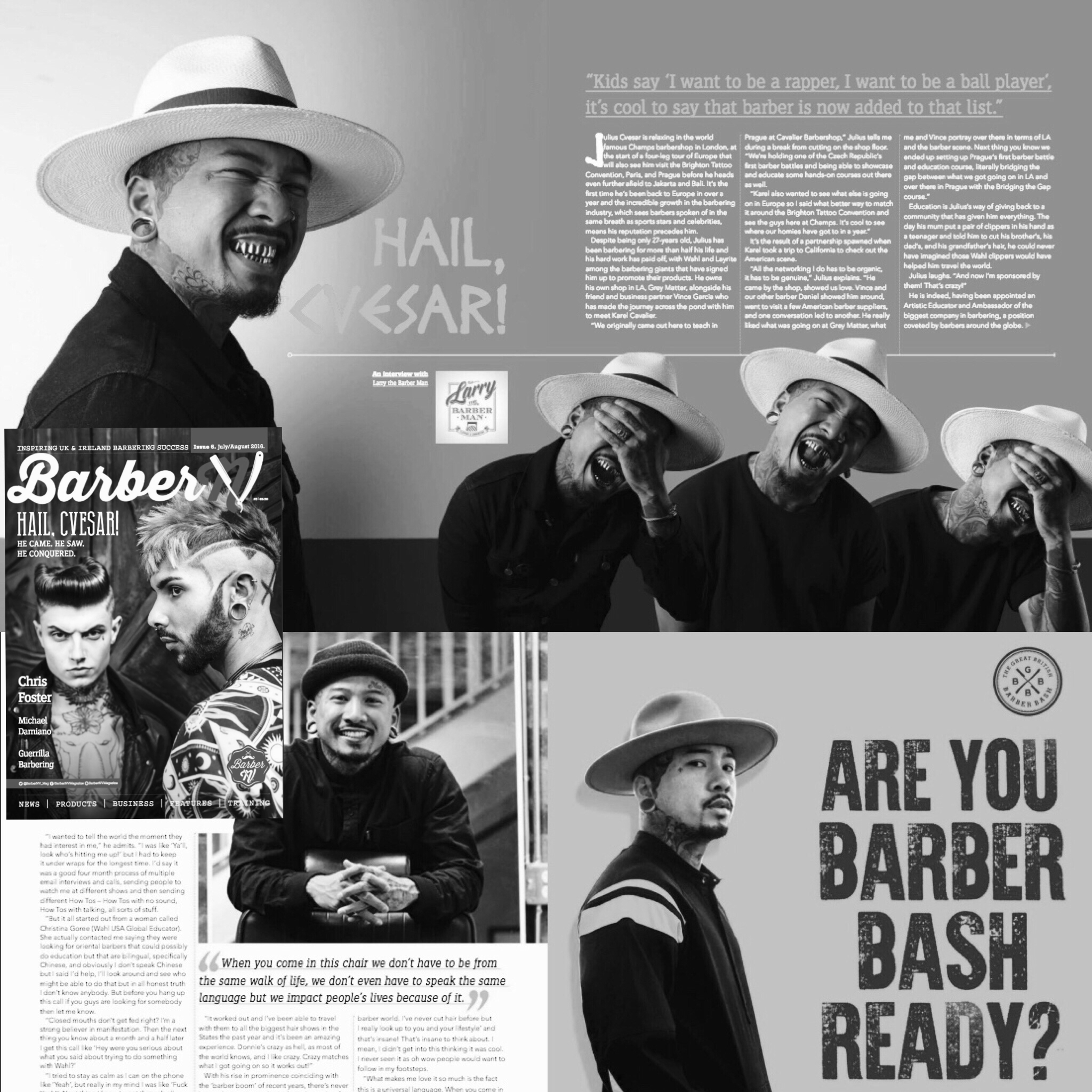 BARBER NV, JULY/AUGUST 2016