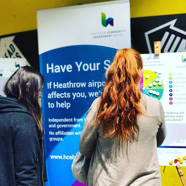 We're excited to be working with @campusindustries to make sure students who live and study around @heathrow_airport have every opportunity to engage in the upcoming consultation and make their voice heard. Yesterday, the team were at @bruneluni.