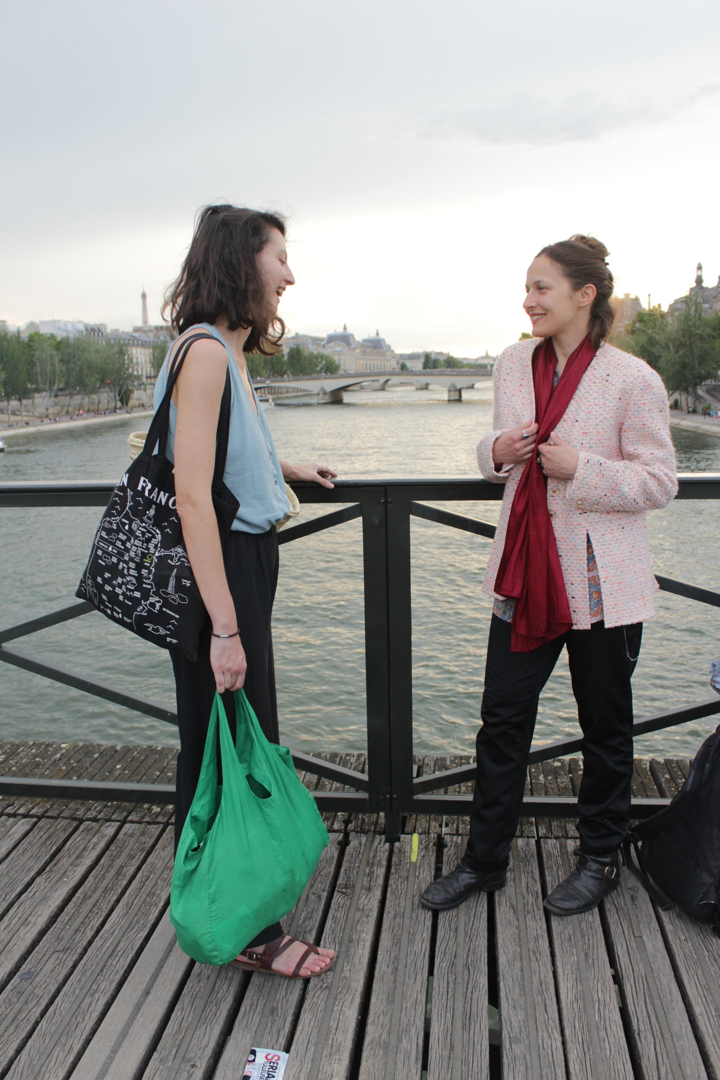 MAIRIE & FRANCESCA  PONT DES ARTS