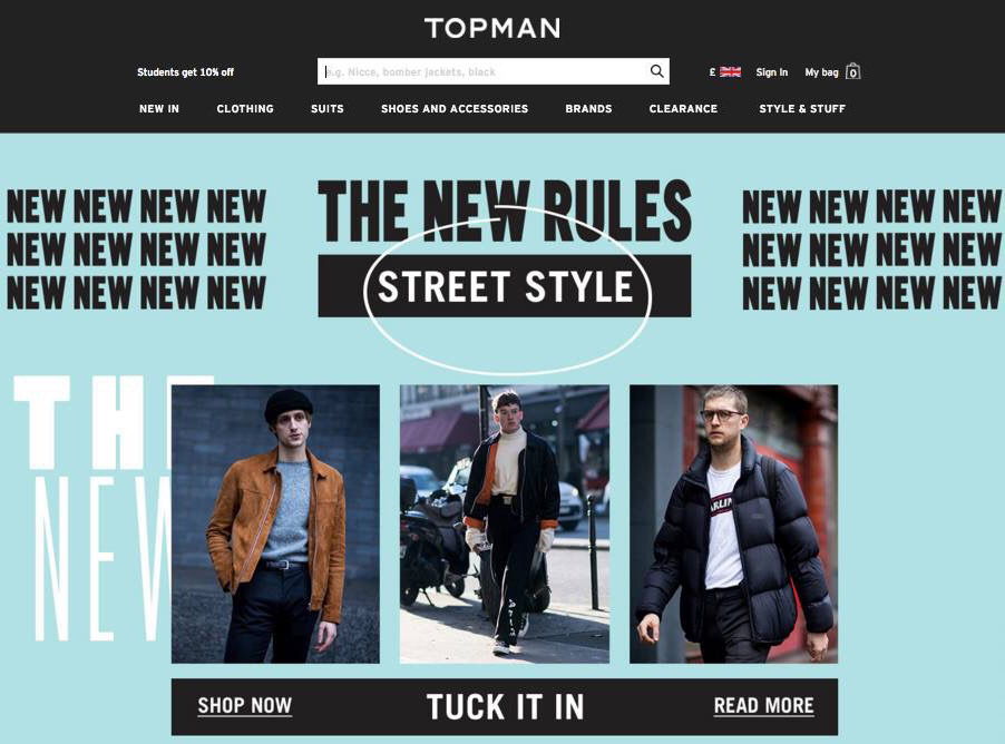OUR #DARLING TEE SPOTTED ON  @topman   'NEW RULES' STREET STYLE  MOBILE / DESKTOP BLOG & THEIR WEEKLY TOPMAN EMAIL.