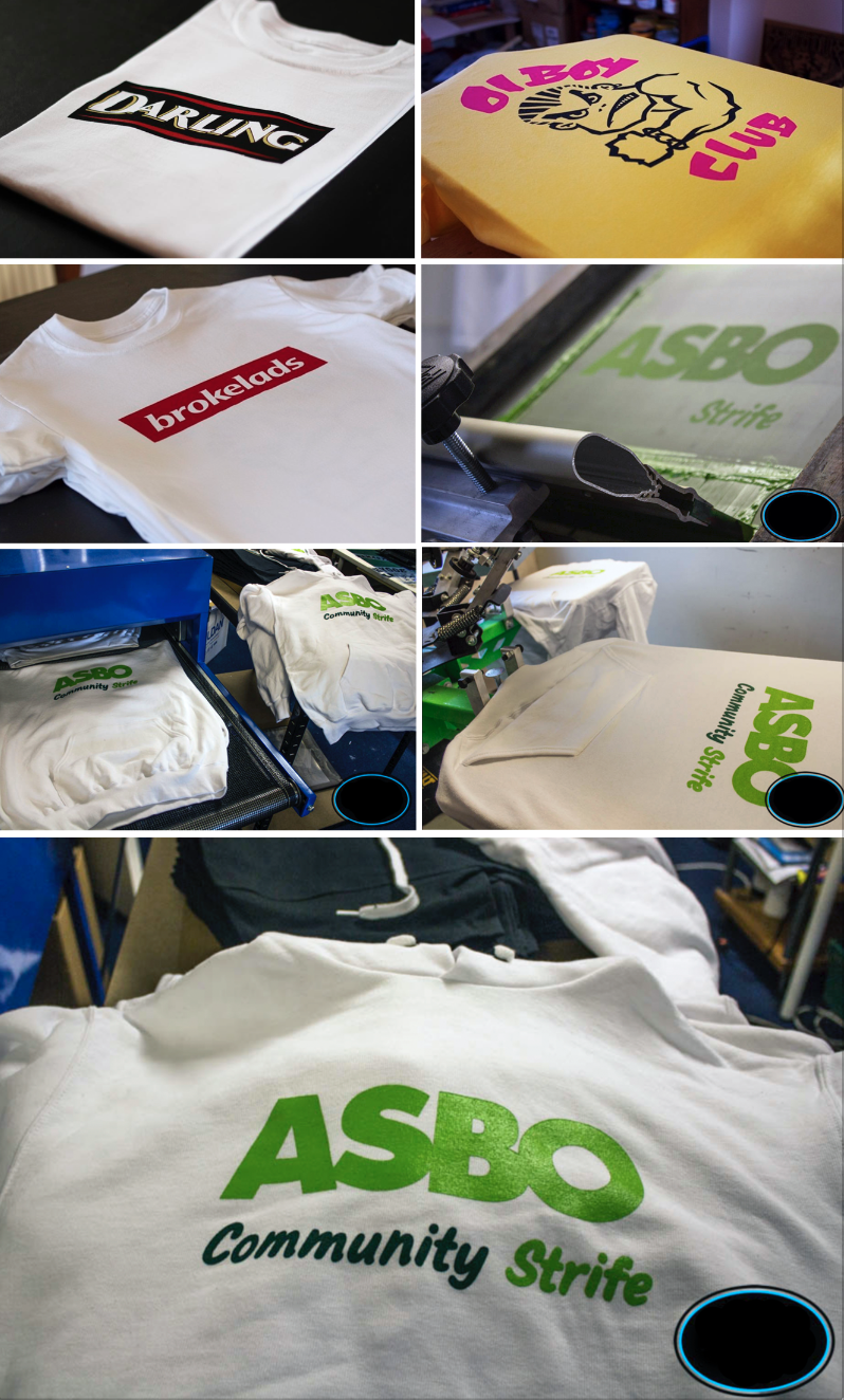 OVER THE PAST FEW YEARS WE HAVE TESTED MANY PRINTERS, WE HAVE ALL OUR GARMS EITHER SCREEN PRINTED OR VINYL PRINTED IN THE U.K. TO THE HIGHEST STANDARDS POSSIBLE.