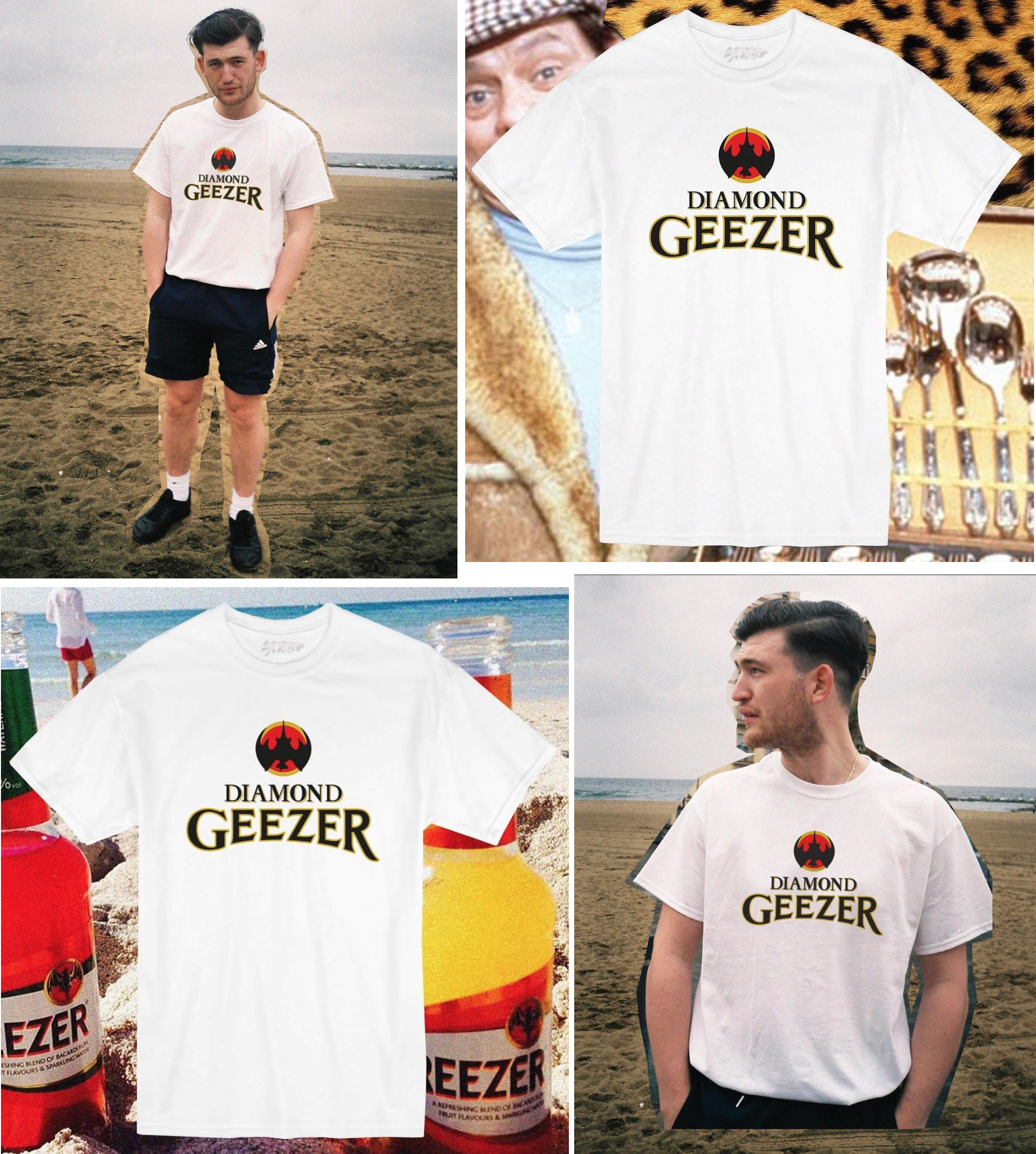 OUR NEW DIAMOND GEEZER TEE IS OUT NOW AND AVAILABLE  HERE .