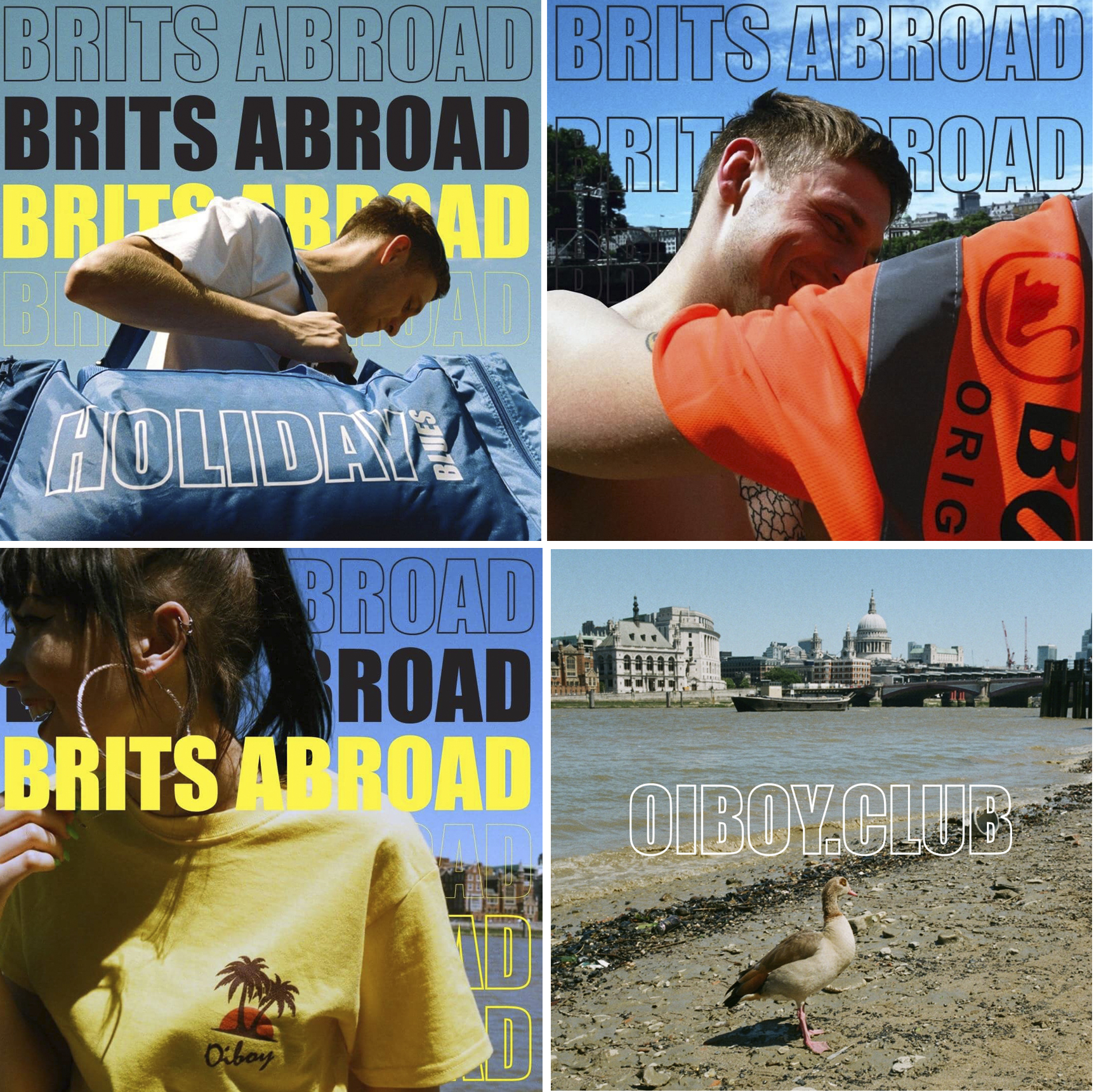 OUR BRITS ABROAD RANGE FOR SS/17 COMES OUT LATER TODAY!!!!