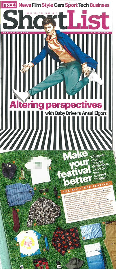 ONE OF OUR NOW DELETED TEEs FEATURED AT NO.3 IN  @SHORTLISTMAGAZINE  ARTICLE 'MAKE YOUR FESTIVAL BETTER'  #SHORTLISTMAGAZINE