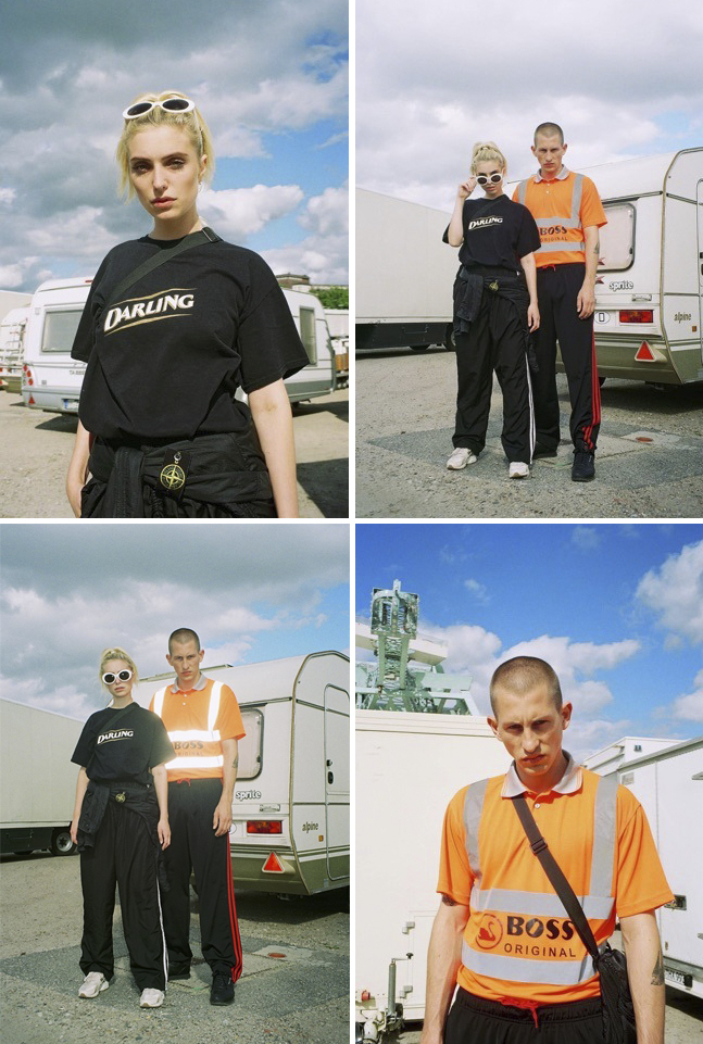 WE'VE BEEN IN HAMBURG PHOTOGRAPHING  @MY.INDIGOSOUL  IN  #BOSSORIGINAL  &  @WHOISAMIABLE  IN #DARLING BLACK LABEL SHOT BY  @HARTIGAND   #OIBOY