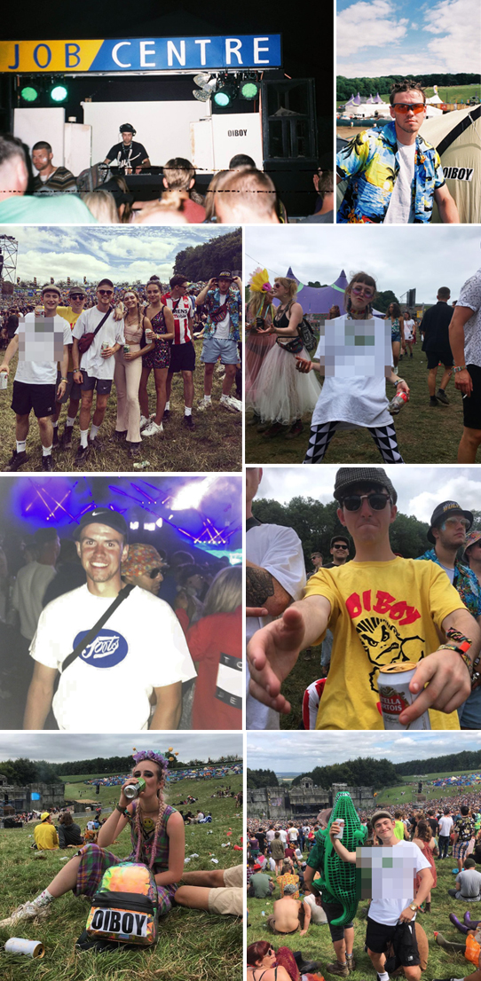 SPOTTED SOME #OIBOY AT #BOOMTOWN FESTIVAL.