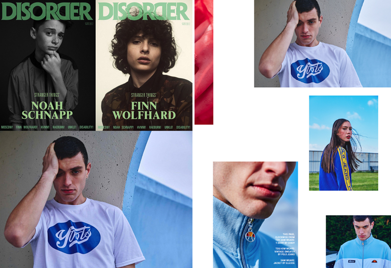 OUR YOOTS TEE SHOT BY SIAN O'DONNELL ( @FASHWANK ) FEATURED WITHIN  @disordermagazine