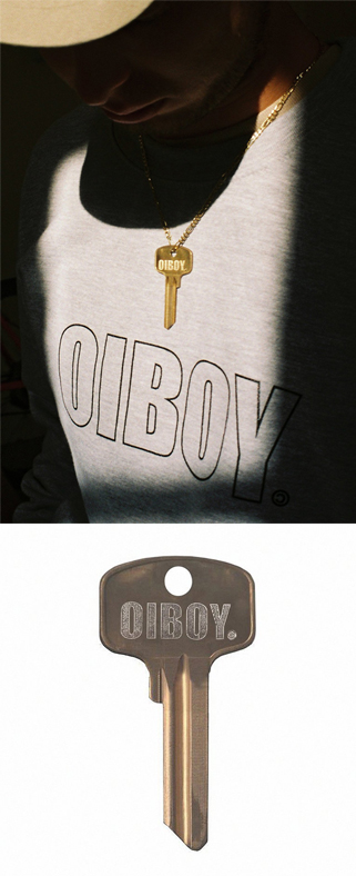 The OIBOY IMPACT key was given out at THE IDLE MAN launch party, available to buy soon on our website.
