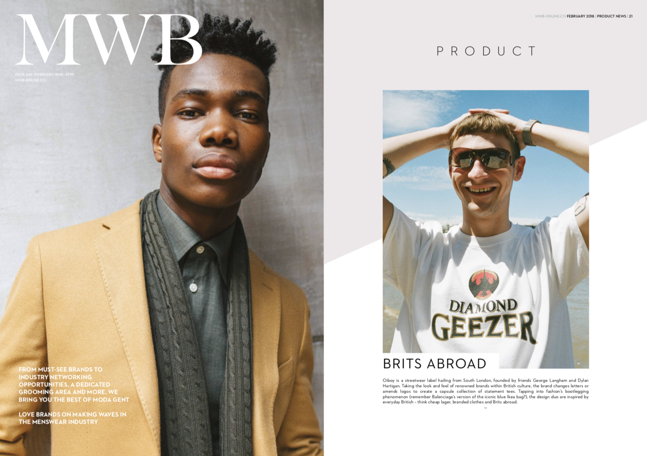 We had a full page feature within MWB print and digital magazines.