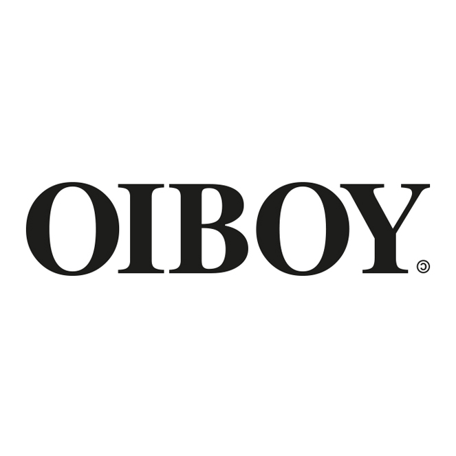 We have re-branded!! This will be the new Oiboy logo for 2019 and beyond, still featuring the back-to-front copyright symbol.