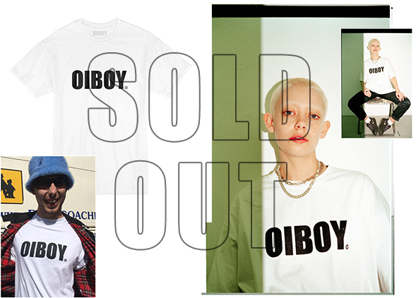 The OIBOY IMPACT range white t-shirt has now sold out and due to the Re-brand won't be sold again.