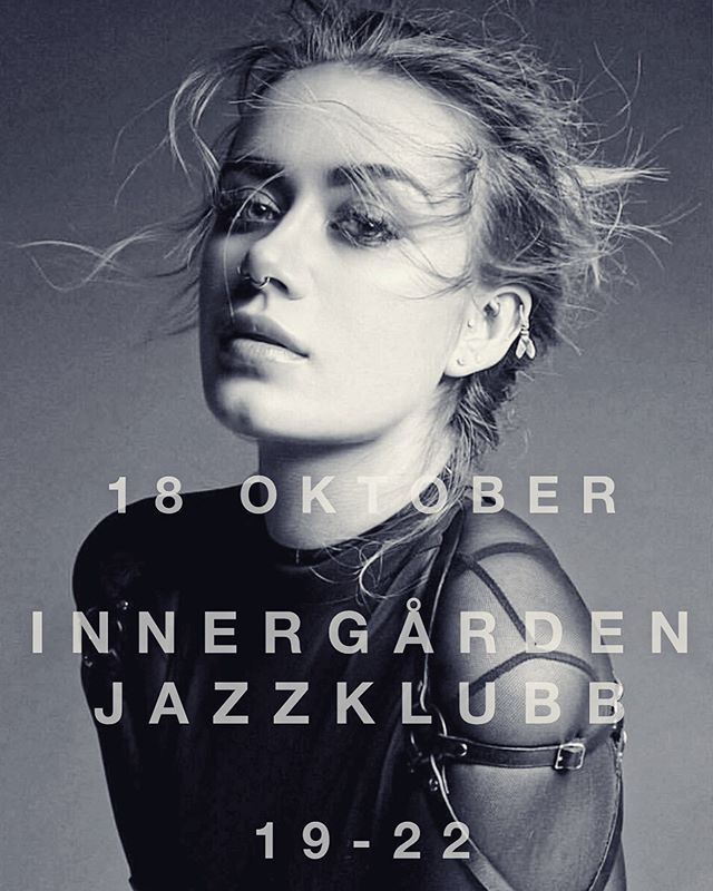 @jazzklubb_innergarden have made a point of only booking female musicians during the jazz festival in Stockholm this year! 💥🔥 So on the 18th of October, me and my ALL FEMALE band will preform some jazzy tunes from 19-22. 💪🏼🎶🎵🎹🎸🥁🎤🥂 #jazz #gig #femaleband #femalemusicians