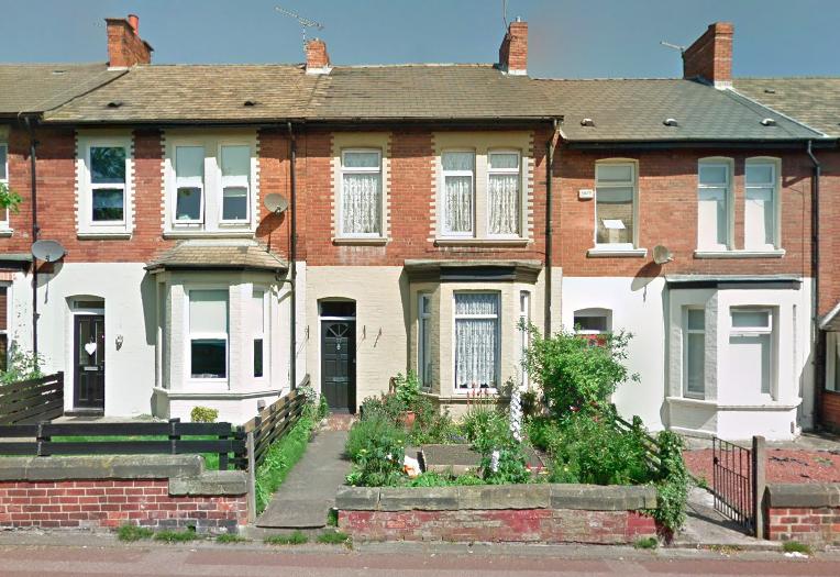 77 Meldon Terrace, Newcastle upon Tyne.