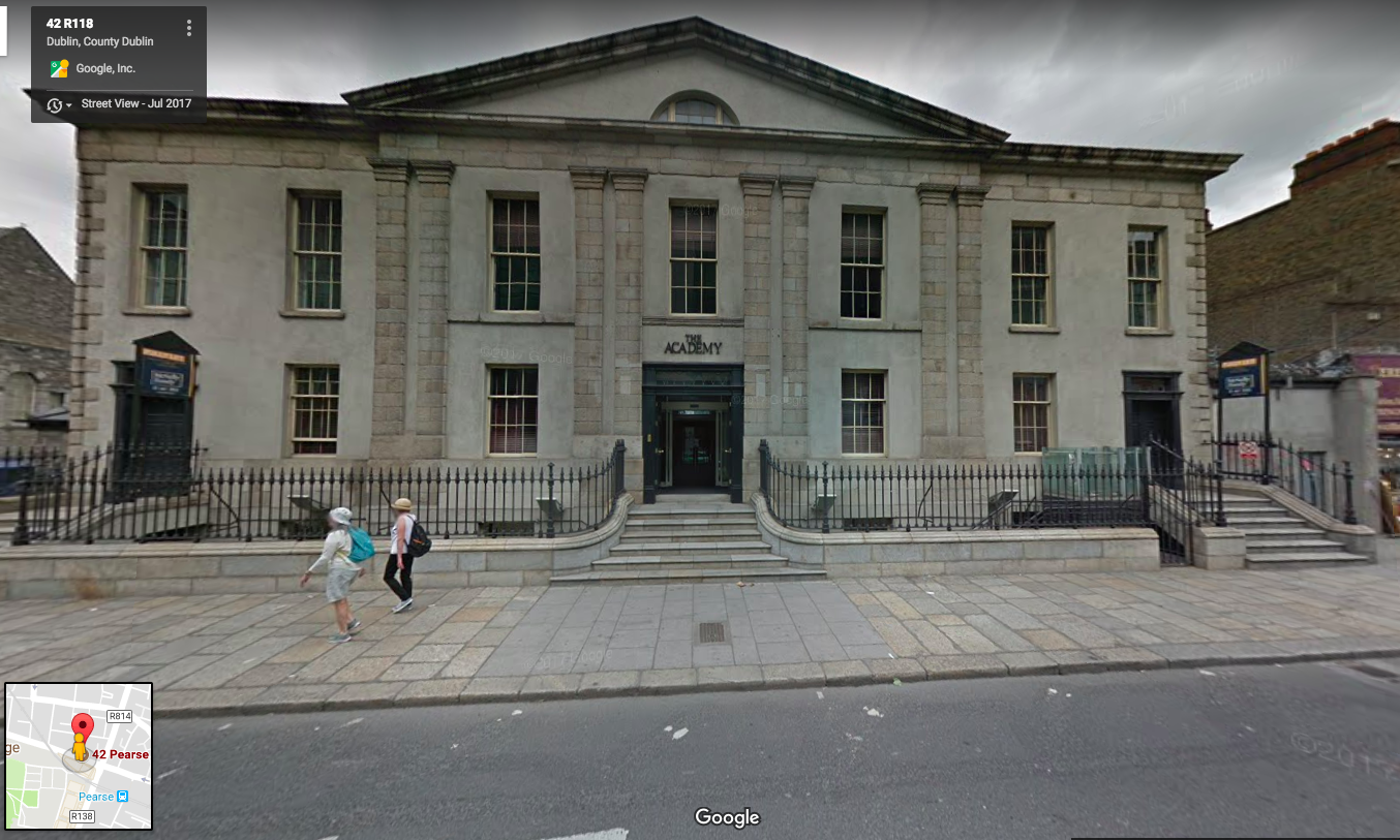 Thanks Google Maps. This is what the building looks like today.