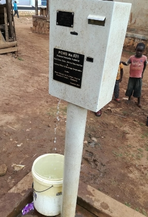 Pre-paid water standpipe Bwaise Kampala