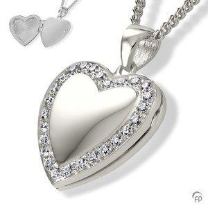 AH 048 met Zirkonia  AH 048 € 219,00 / symbolische hoeveelheid / H 2.4 CM  Bij deze sieraden in geel- en wit goud worden de Zirkonia steentjes vervangen voor echte diamanten. Prijs op aanvraag.