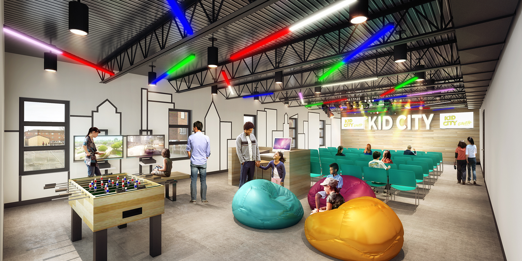 Future City Life Kids Space