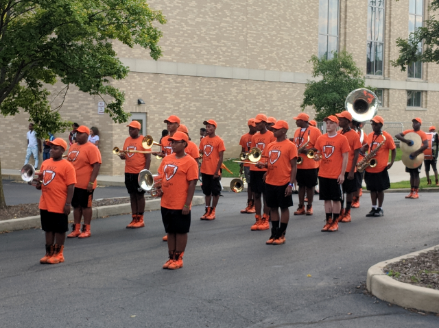 East High School Marching Tigers