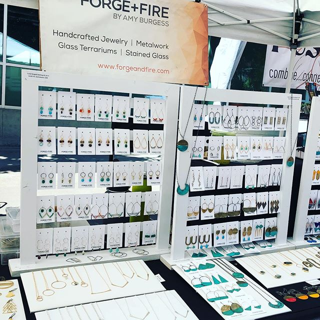 This weekend is the last chance of the season to catch Forge and Fire at the @vancouverfarmersmarket . The farmers market runs through October but we don't. Mention this Instagram post and you'll get $5 off your purchase of $20 or more tomorrow 9-3 and Sunday 10-3.