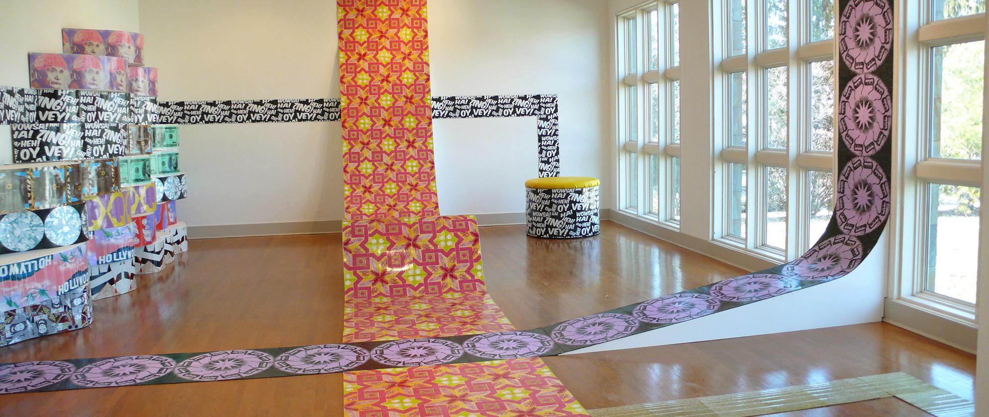 Urban Pop curated by Amie Potsic, artwork by Leslie Friedman