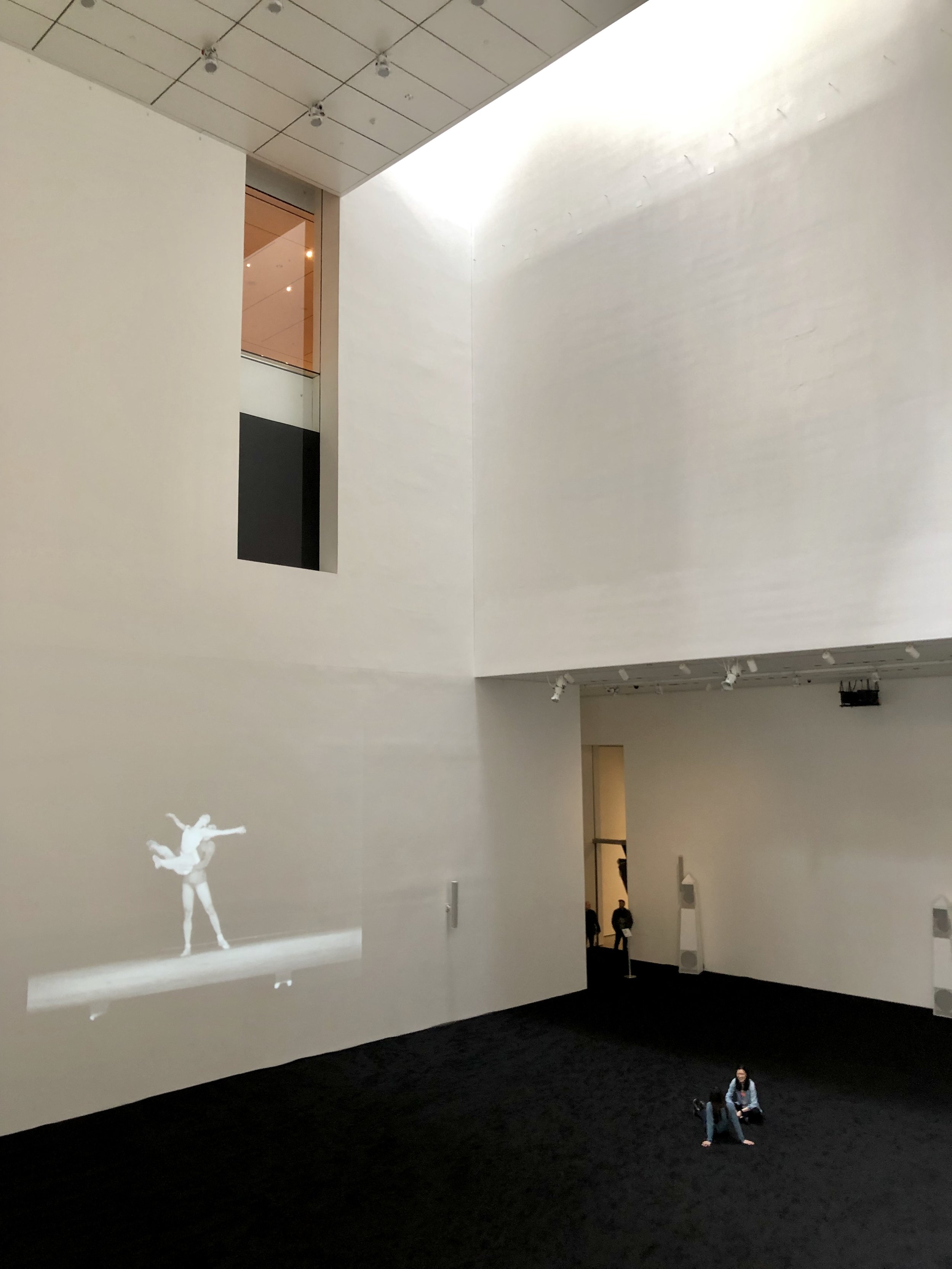 Museum of Modern Art (MOMA), Film Footage of Balanchine Ballet Rehearsal, Photograph by Amie Potsic