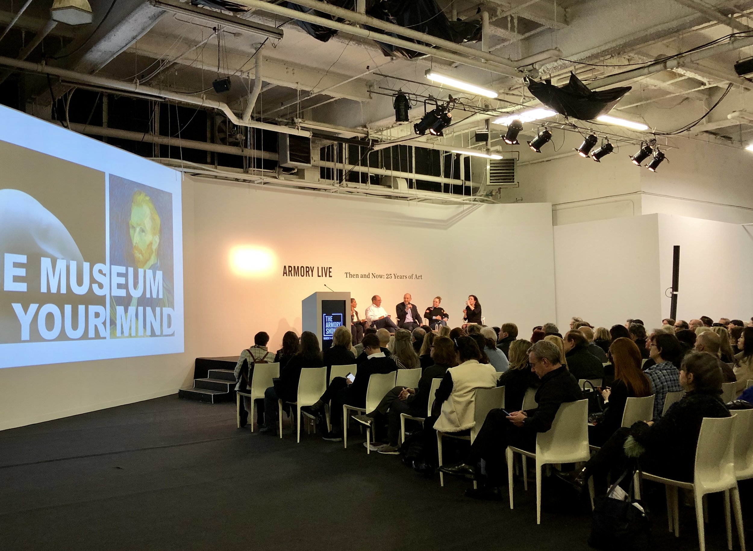 Armory Live: From Investment to Connoisseurship - Debating Major Shifts in Collecting Talk photograph by Amie Potsic