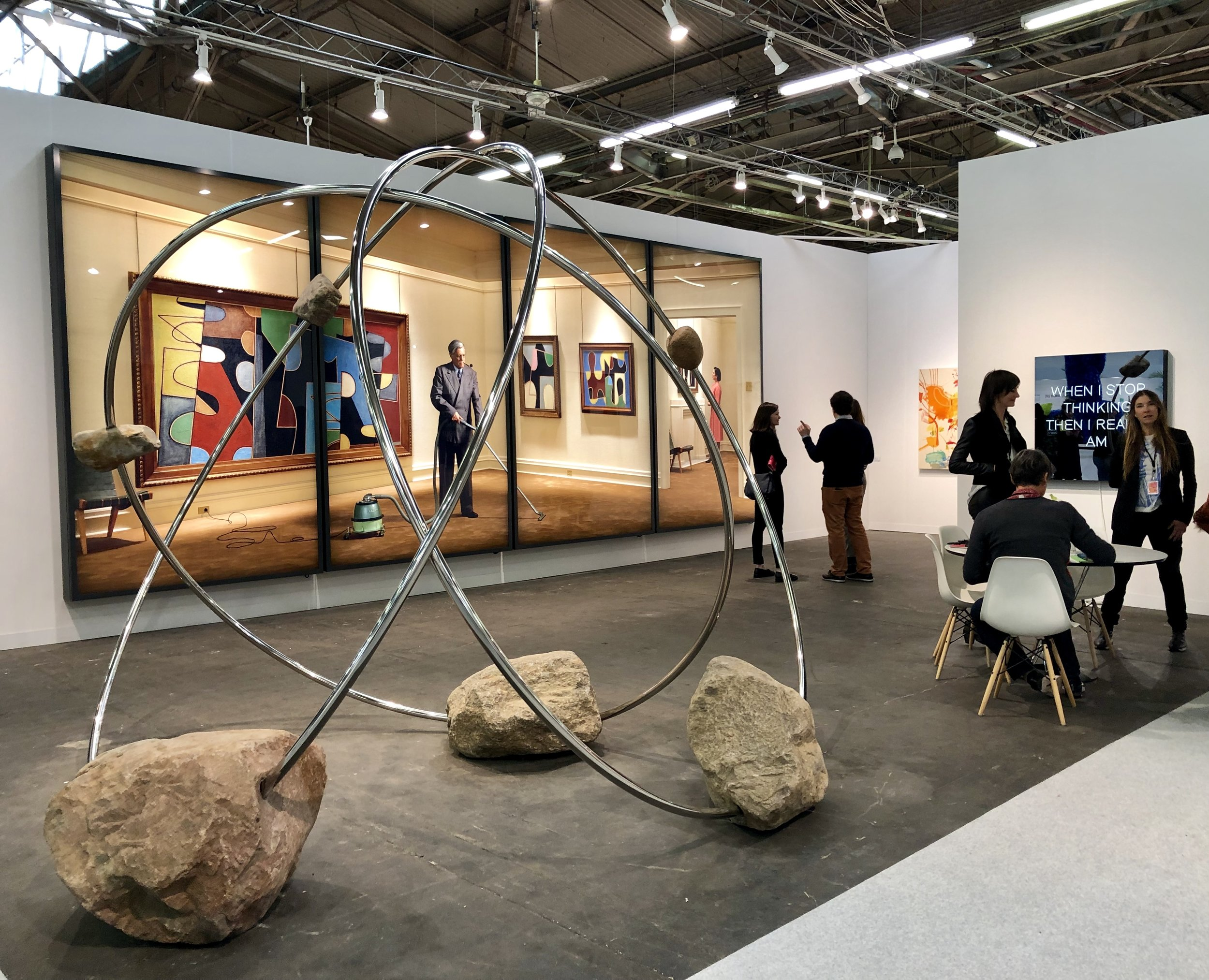 303 Gallery's Booth, photograph by Amie Potsic