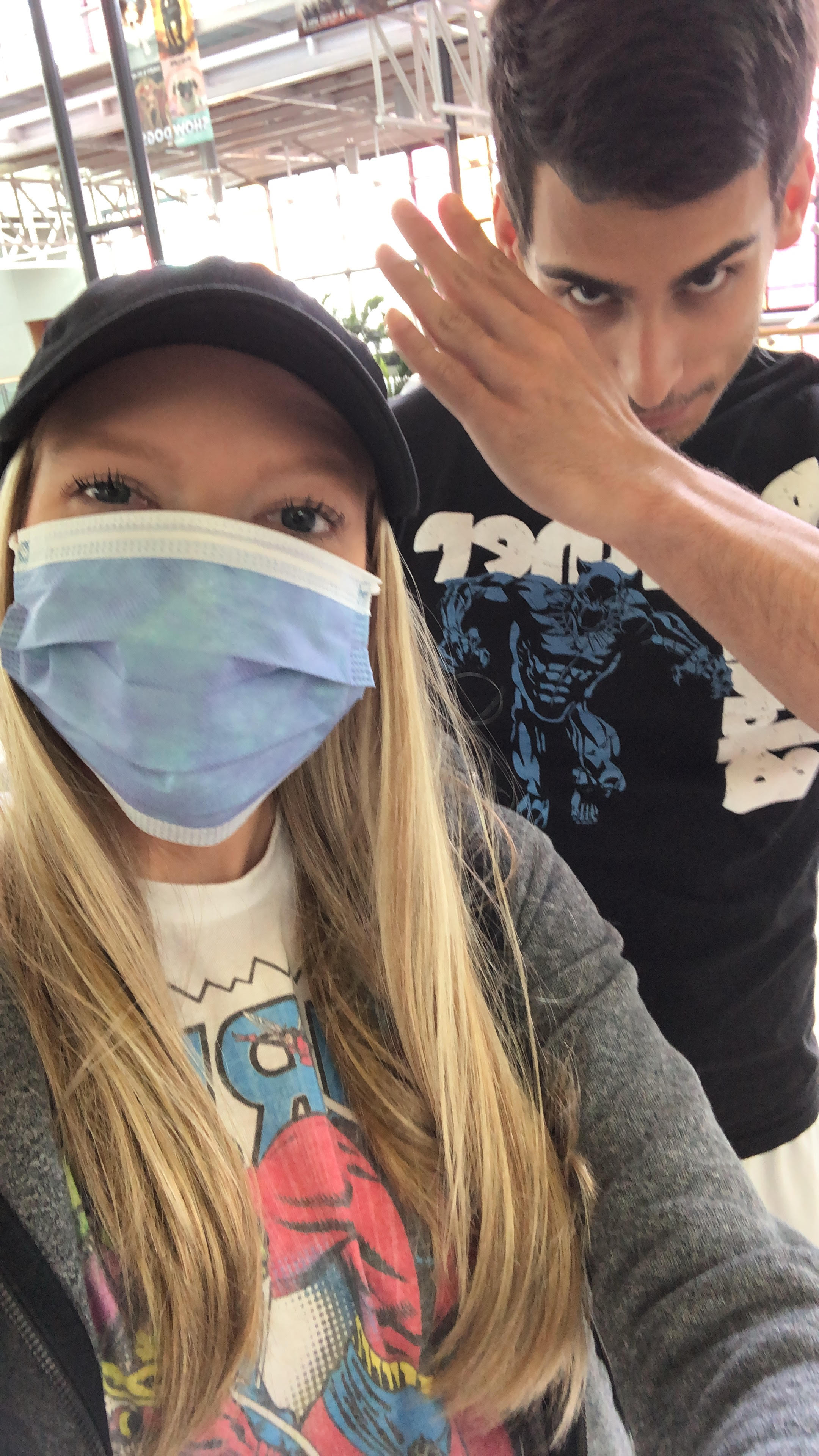 Halfway there - New challenges, same fight.Week OneSomething very very important to Timmy and I happened the day after my infusion this round. INFINITY WAR CAME OUT IN THEATERS. Literally nothing was going to stop me from seeing this movie on opening day. Peep that cute selfie of me in a mask and Marvel t-shirt for proof. Yep, I went straight from getting fluids to seeing the movie! I'll keep this blog a Marvel spoilers free zone, don't worry. Why the mask though? Well, we found out during my infusion day that my white blood cell counts had dropped pretty low, which means I was super susceptible to infection. The doctors let me get my treatment but made me promise to wear a mask out and come back to get labs drawn the following week. My counts dropped even more after treatment and I had to get a Neulasta shot to boost them.Week TwoBefore heading to University of Florida for my little brother's graduation, I had to go back to the docs to check in on my counts. The Neulasta shot that I had been given wasn't kicking in yet and my white blood cell counts were still super low. We were already taking precautions to keep me safe and healthy for the graduation, but my doctor also ordered me to get a Neupogen shot to boost the counts even quicker. More about graduation weekend in a separate post, but after returning home to Orlando, I had labs drawn again and we found out the shots worked perfectly! I still need to be cautious but my doctors are happy with where my counts are.Week ThreeI was feeling well enough to go back to my apartment in Miami for a few days. I only slept there 2 nights but I was excited to be able to go back for even 48 hours, see my coworkers and go out to a delicious team dinner at KYU in Wynwood. I was also stoked to receive a promotion in my annual review! It's nice to know that my hard work is being recognized, especially through all the tough times I've been going through personally the past several months.Another bright spot? I won my company's Su