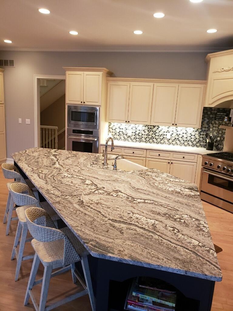 Sand Cove Leather Granite