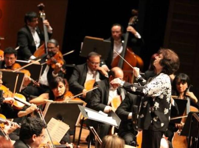 The National Symphony Orchestra of Peru, Lima