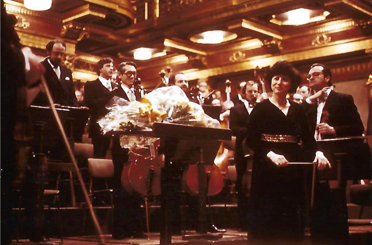 Tonkünstler Orchester at Musikvereinsaal, Vienna