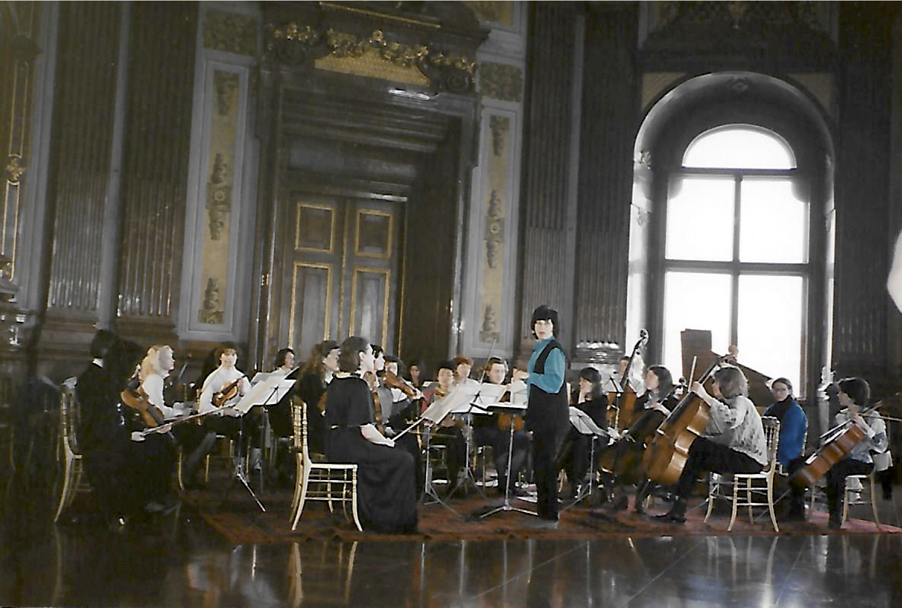 I. Frauen-Kammerorchester von Osterreich at Belvedere Palace, Vienna
