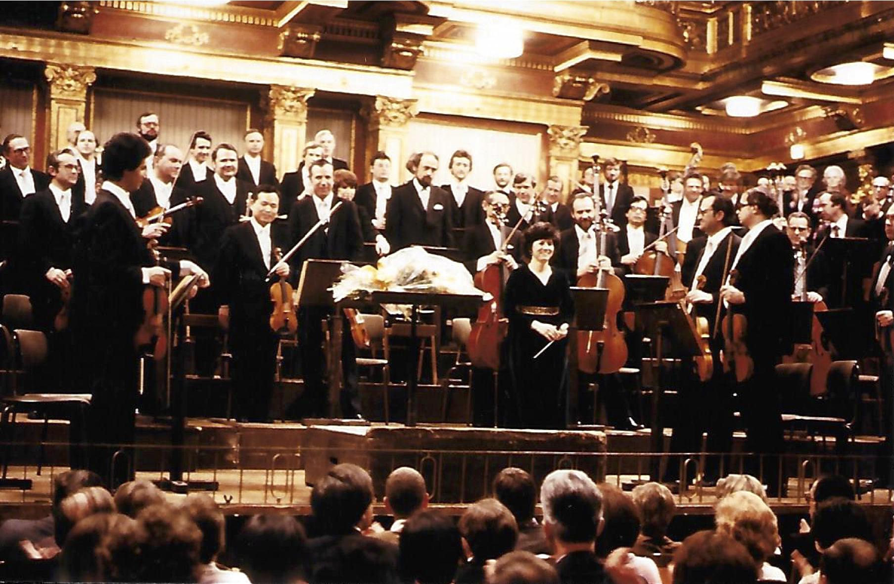 Tonkunstler Orchester at Grosser Musikvereinsaal, Vienna
