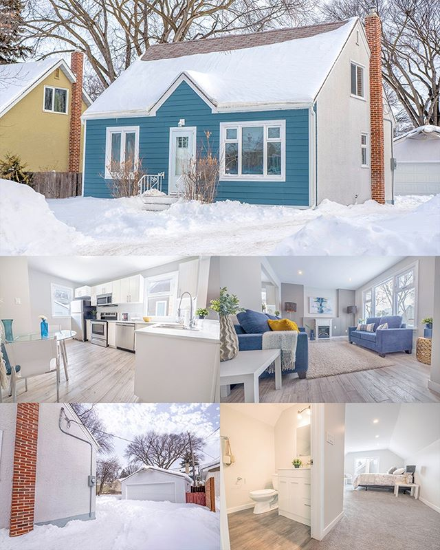 129 Dunrobin Avenue, Winnipeg  2 BEDROOM · 2 BATH · 1,135 SQFT |  LIST PRICE $299,900  Welcome to 129  Dunrobin Ave in SUPER DESIRABLE Fraser's Grove! This home is located on  one the most charming streets in Wpg & it has been beautifully  remodelled (all permits pulled)! As you enter, you are greeted by a  open concept main floor w/laminate flooring throughout, a large living  room, LED potlights, & an abundance of brand new windows that let in  a ton of natural light. The kitchen was completely renovated w/stunning  cabinets, tile backsplash, stainless steel appliances & will be  perfect for entertaining! The main floor also boasts 2 large bedrooms  w/ample closets, a gorgeous full-bathroom & MORE! On the upper  level, you will find a MASTER SUITE: giant master bedroom, 3-pc bathroom & large walk-in closet! WOW! The basement is full-height,  ROCK-SOLID & waiting for your finishing touches! Electrical,  plumbing & mechanicals have been upgraded. Outside, you will find a  large backyard, concrete front driveway & a large DOUBLE detached  garage!  James Boschman · 204-330-0019 (cell) · Royal LePage Prime Real Estate