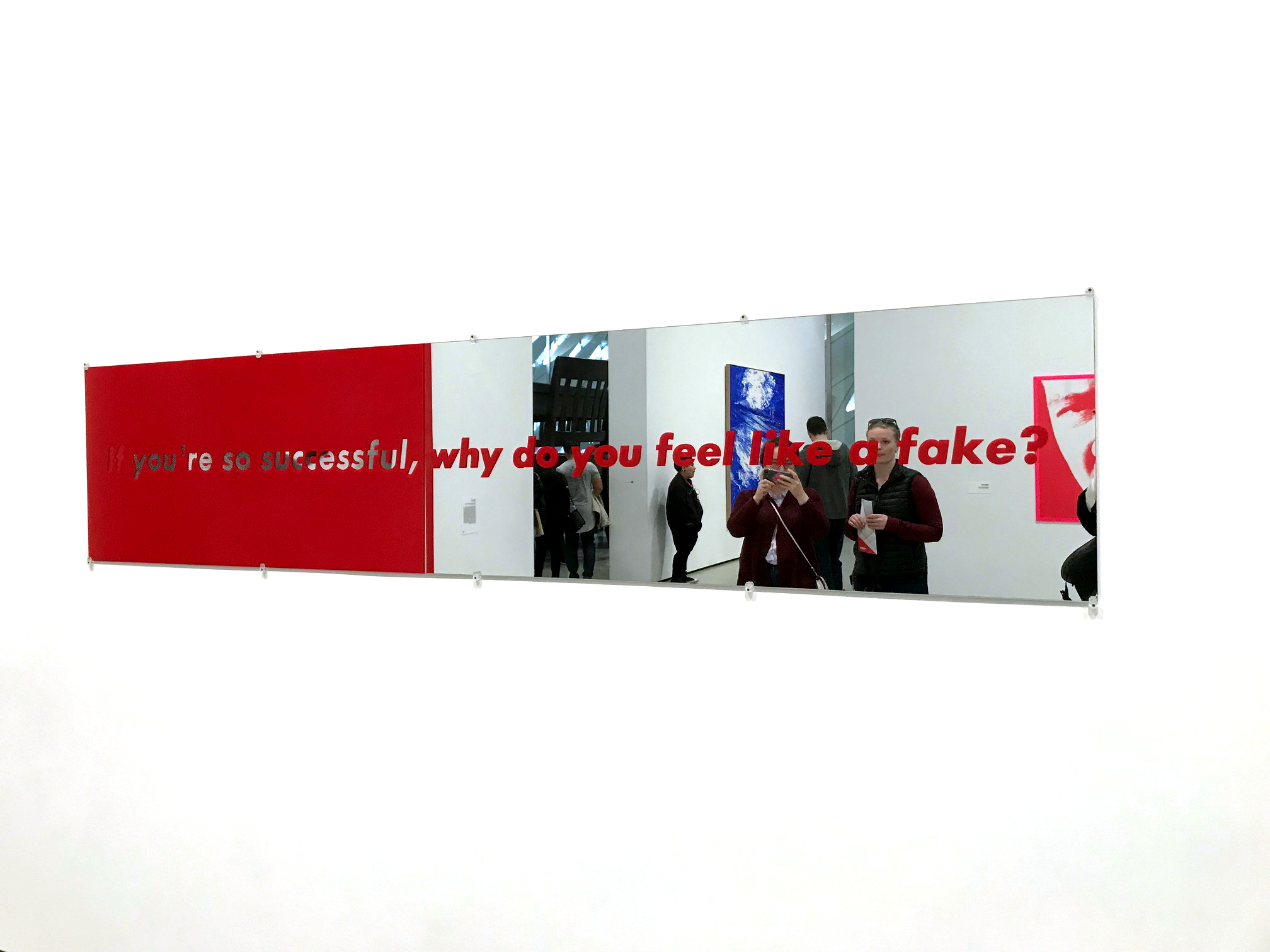 Barbara Kruger/ Untitled (If you're so successful, why do you feel like a fake?), 1987