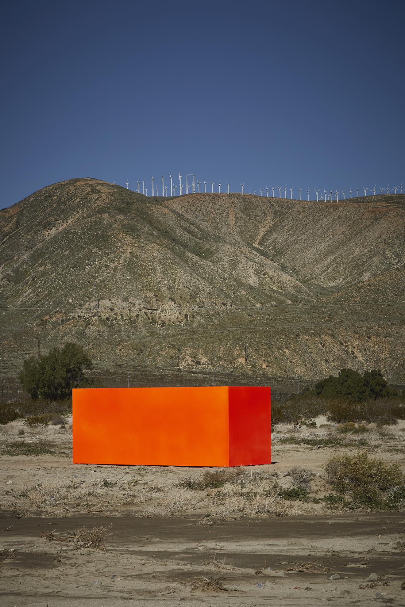 Sterling Ruby / Specter as part of Desert X 2019